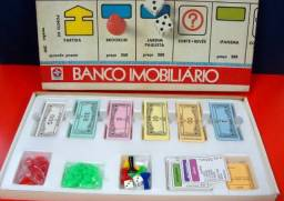 Jogo Banco Imobiliário 1987 - Conservadíssimo