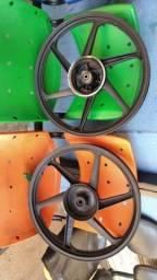 Rodas Scud freia tambor ybr / factor
