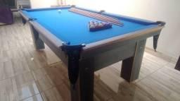 Mesa Charme e Jantar Cor Dakar Tecido Azul Mod. WECY0565