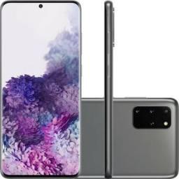 Samsung Galaxy S20+ 128GB, 8GB Ram, Tela 6.7 Câmera Quádrupla 64MP +ToF, IP68 Cosmic Gray