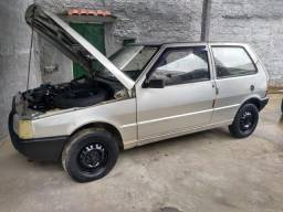 Fiat uno mille 1.0 ano 91 gasolina (aceito cartão ) - 1991