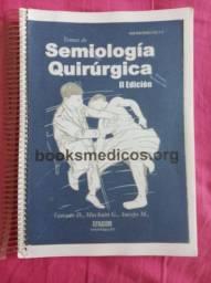 Livro semiologia cirurgica + semiologia medica