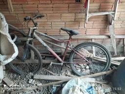 Bike Caloi terra velha varios problemas