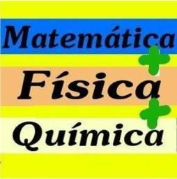 Resolvo listas de exercícios matemática física e quimica