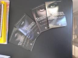 Box Diários do Vampiro - 4 livros