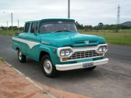 Ford F 100 Diesel Gabinada