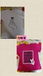 T-shirts *QUEIMA DE ESTOQUE*