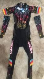 Macacão ciclismo feminino (NOVO)