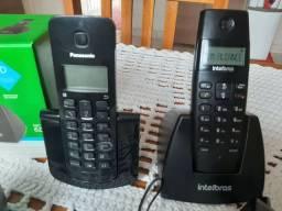 2 aparelho de telefone digital em ótimos estado