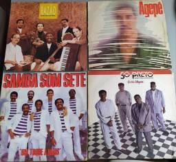 Lote de discos de Pagode
