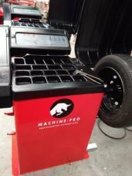 Balanceadora de Rodas Automática   Machine-Pro   Equipamento Novo