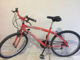 Bicicleta 18 marchas Fischer