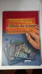"""Livro """"O gênio do crime"""""""