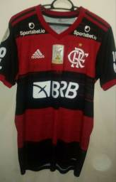 Camisa do flamengo usada em jogo