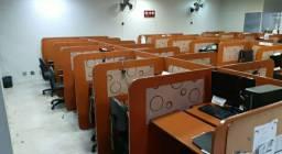 30 baias para call center - Seminovas