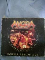 CD Angra Double Álbum Live