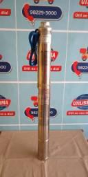 Bomba Submersa (3 polegadas)cano 100mm, 1/3 HP