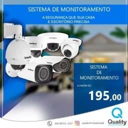 Sistema de câmeras profissional ou domestica