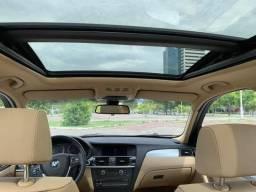 BMW X3 2014 4x4 WX31 Super Top Teto Solar Duplo Panorâmico 4 Pneus Novos