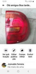 Lanterna  esqueda  Vermelha  bicolor