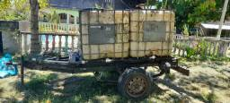 Reboque Tanque de água /Combustível  2000 litros