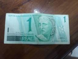 1 REAL / 1 CRUZEIRO