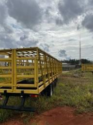 Carreta gaiola para gás noma reformada 46mil