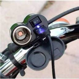 Título do anúncio: Carregador de celular para moto
