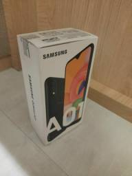 Samsung A01 Preto - 32GB Tela 5.7 - pouco uso