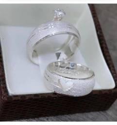 Promoção alianças de namoro em prata 399,99