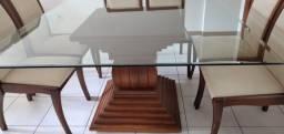 Mesa 8 lugares, 8 cadeiras