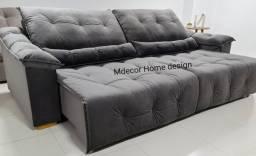 #sofá #Retrátil #Reclinável Alto Padrão Qualidade Extra máximo conforto