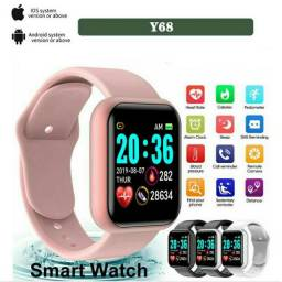Y68/D20/GM20/fitpro Relógio Smart Watch com Bluetooth USB com Monitor Cardíaco