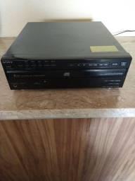 Aparelho de Som Gradiente 3 em 1 + CD Player Sony