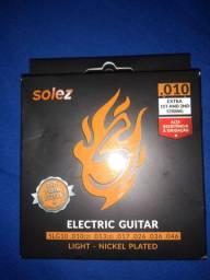 Vendo caixa de corda para guitarra.cada caixa contém 06 unidades.