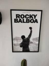 Quadro Poster Rocky Balboa 95cm x 65cm