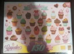 Quebra Cabeça Cupcakes 150 peças