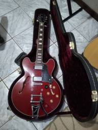 Guitarra Tagima Blues Ponte Bigsby com Case