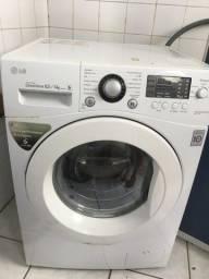 Máquina de lavar e seca de roupas LG