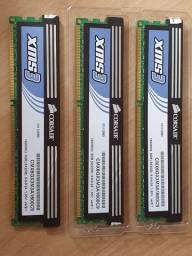 Memoria corsair XMS3 DDR3 1600Mhz 6gb (3x2Gb)