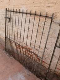Portão 2,50X1.20m Ferro fundido