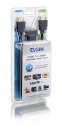 Cabo hdmi 3 em 1 com adaptadores/ conversores mini e micro