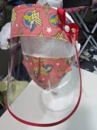 Kit.viseira + máscara face shild por R$ 20.00