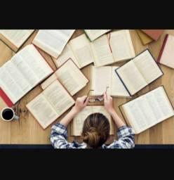 Revisão e auxílio na criação de TCCs, artigos e trabalhos acadêmicos em geral.