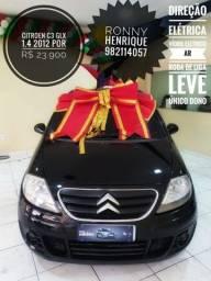 Citroen C3 glx 1.4 2012 por R$23.900