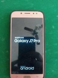 Vendo Samsung Galaxy J7 pro. 62 GB aceito cartão de crédito e débito