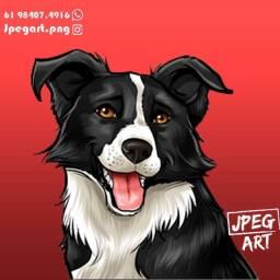 Caricatura do seu dog!!
