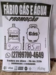 Fábio gás e água