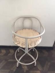 3 Cadeiras de bebê, base de ferro