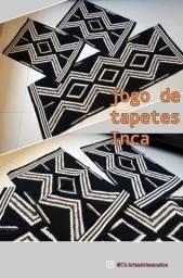 Jogo tapetes Inca